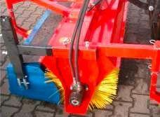 Kehrmaschine für Hoflader-Betrieb