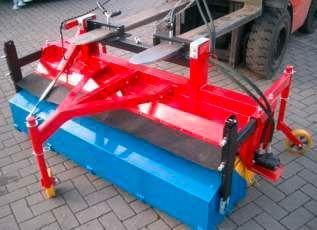 Kehrmaschine für Gabelstapler oder Palettengabel