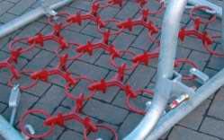 Wieseneggen-Ersatznetze mit Standardstern, 3-reihige Ausführung