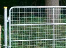 Weidetor Modell 3 - Komplett mit Drahtgeflecht