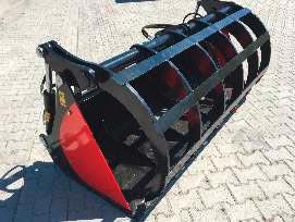 Greifschaufel für Traktor mit 2 Zylinder